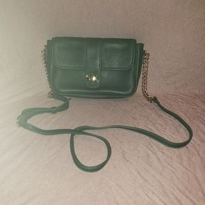 Issac Mizrahi! Green crossbody purse